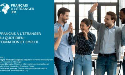 Français à l'étranger au quotidien : formation et emploi